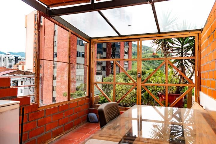 Apt Cocina en Terraza/Vista Panoramica/Amplio