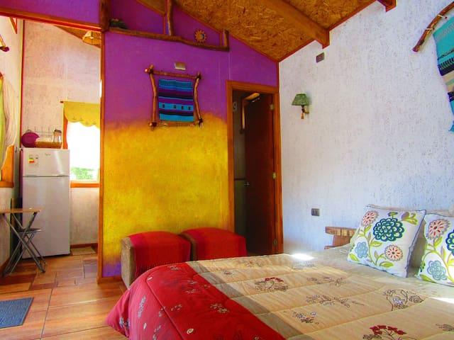 La habitación en el interior