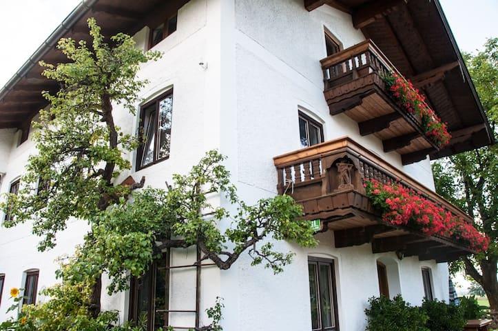 Chiemsee Pferdehof Wohnung Kampenwand