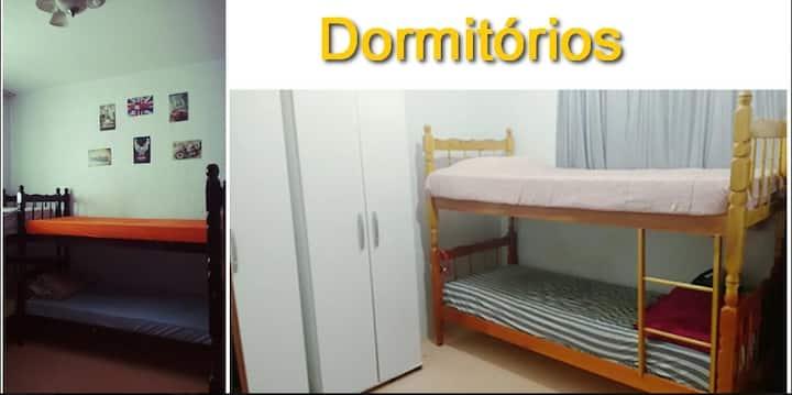 Quarto em hostel
