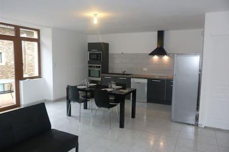 appartement climatisé à Belcastel village classé - Belcastel - Daire