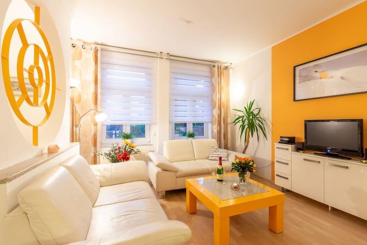 Modernes Apartment in der City von Dresden