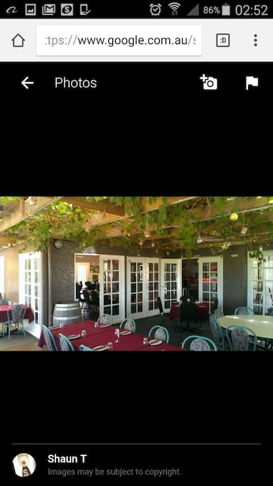 Gypsy Creek Tavern  Friday to Sunday Lunch 12pm till 4pm