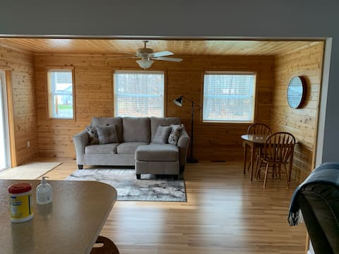 New Lake Missaukee Getaway w/ Peaceful Setting