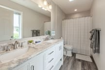 Upper Master Bathroom