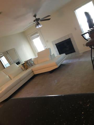 1 bedroom inside home for Irma evacuees.