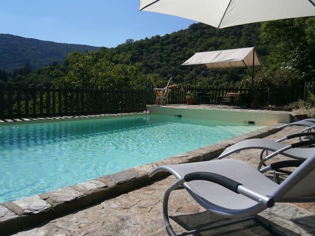''la Vigne'' à Montségur en Ardèche