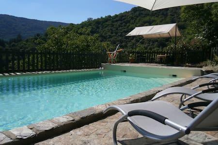 Gîte ''la Vigne'' à Montségur en Ardèche - Sablières - Luontohotelli