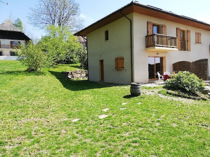 Maison entre montagne et lacs d'Annecy et Bourget