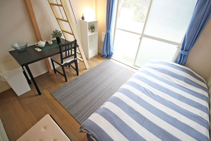 Bright loft near Odakyu line - Setagaya-ku - Apartment
