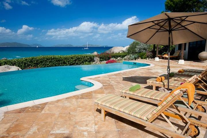 Villa MAV SOL - Deluxe private beach estate surrounded by natural beauty.