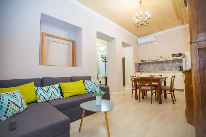 2 bedroom apartment in the HEART of  Tbilisi