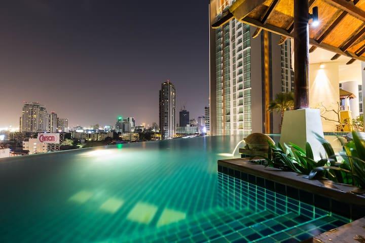 Skybar+ArtDistrict+FoodHub+BTS-2MIN - bangkok