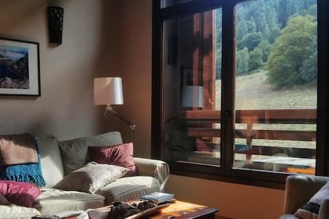 Apartamento montaña dúplex 80m con jardín (Áreu)