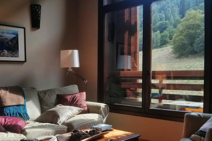 80m Apartment with garden (Pyrenees-Areu)