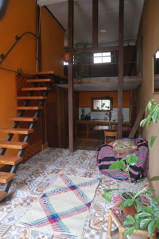 Agradable Loft en barrio típico de Valparaíso