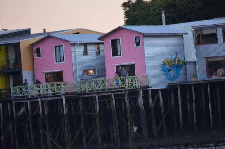 cabaña palafito capitan cheve (JL) - Castro - Haus