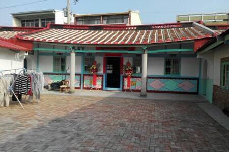 台南傳統悠靜田園三合院-默居