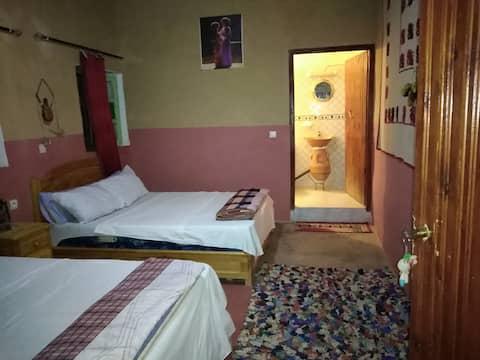 Maison d'hôte traditionnelle berbère