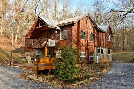 Fox Creek Lodge, Shenandoah Valley - Shenandoah - Talo