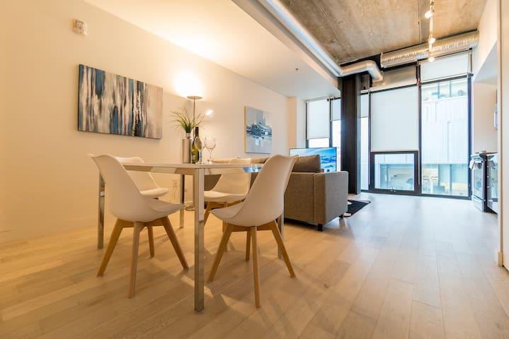Modern Glass House Condo Awaits you!