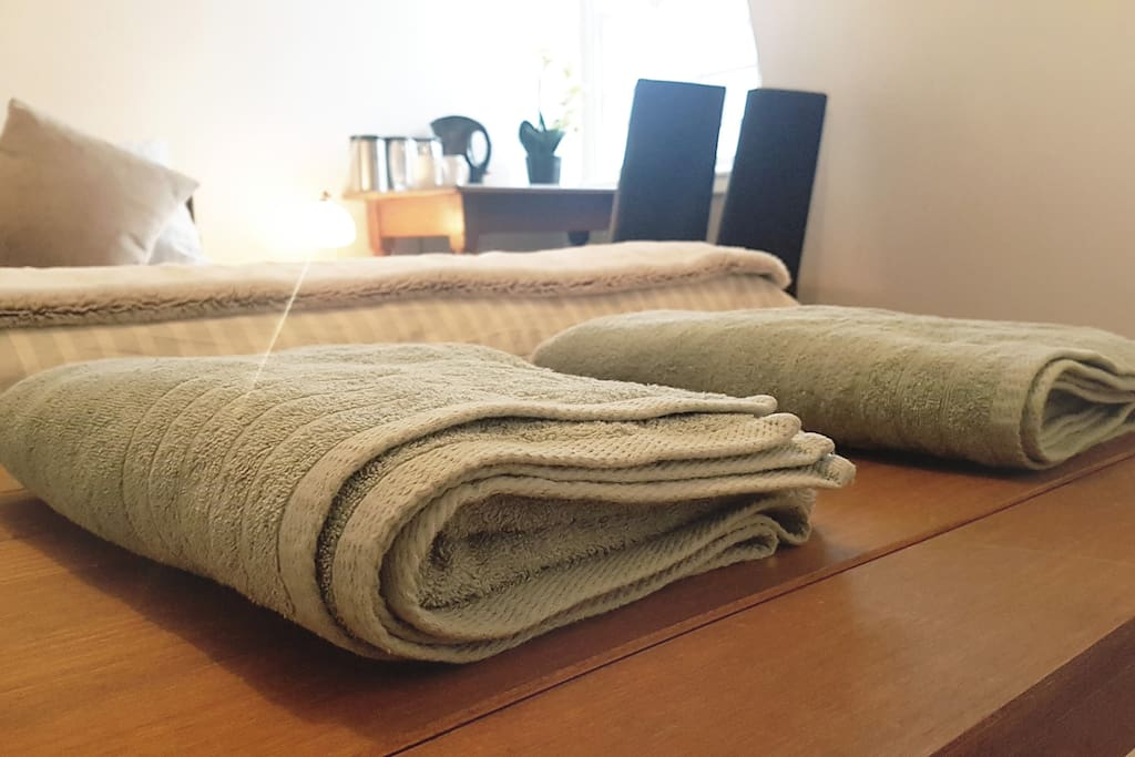 Clean fluffy cotton towels :)