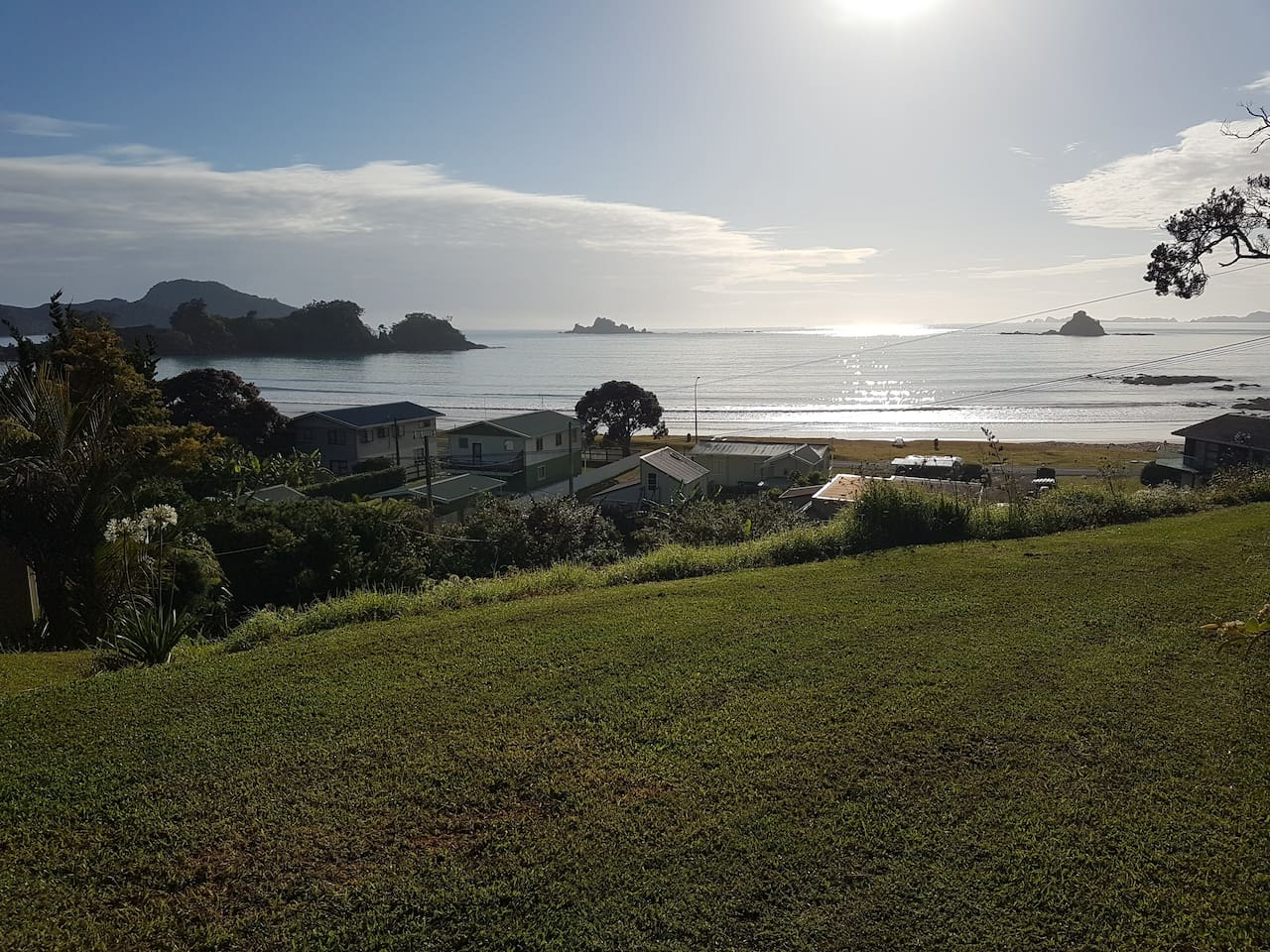 Want to camp at a unique top spot location? We offer you a unique spot with an amazing view looking out to the horizons... We expect that you will love camping here!