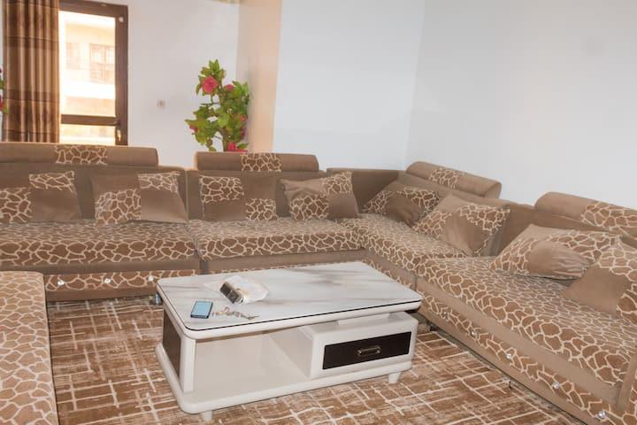Appartement meublé - 2 chambres - salon - cuisine