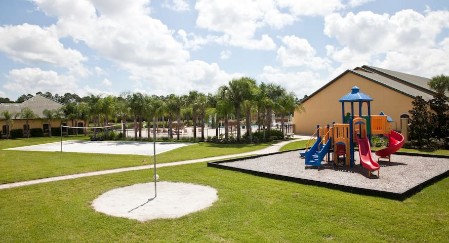 playground/volleyball court