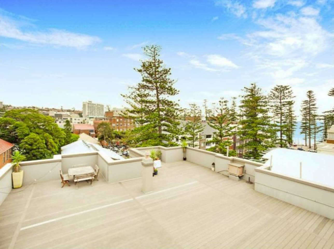 Communal Roof Top with BBQ