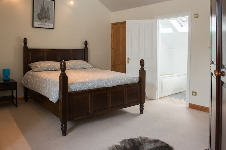 Private ensuite double room in a converted chapel