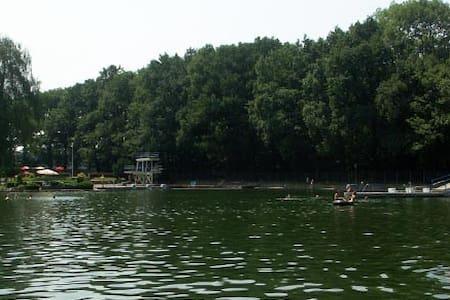 Wald Bungalow direkt neben Naturbad - Pulsnitz - Talo