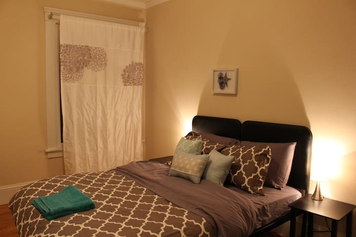 Quaint and Cute Bedroom in Inner Sunset