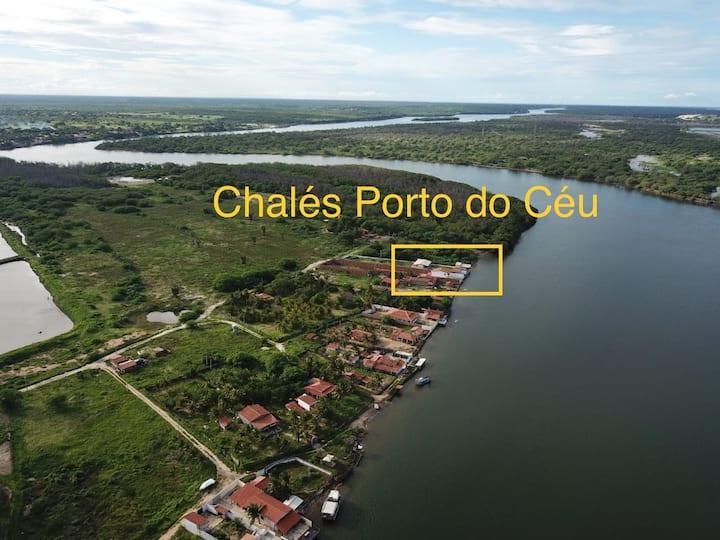 Chalés Porto do Céu - Chalé FELICIDADE