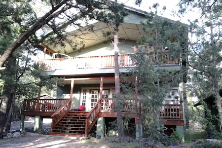 Awesome Hot tub/Fire Pit/7th Night FREE! - Pinetop-Lakeside