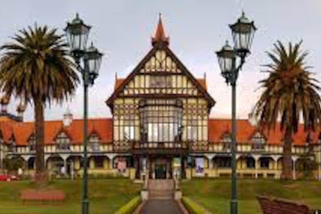 Museum Rotorua (5 mins walk)
