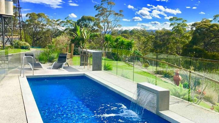 Solar Heated Lap Pool-Merimbula Private Resort