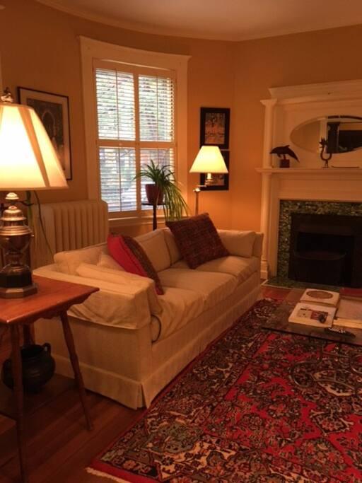 Spacious elegant living room