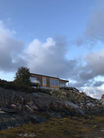 Sea view villa with sauna