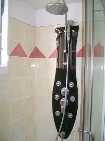 La douche à jets