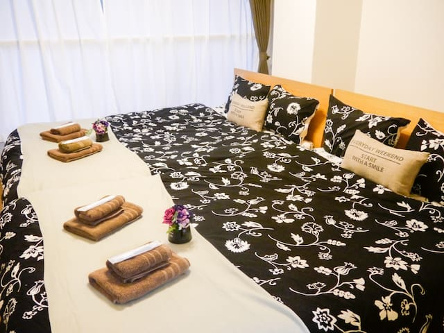 [4A] Fukuoka Condominium - 8 people stay -