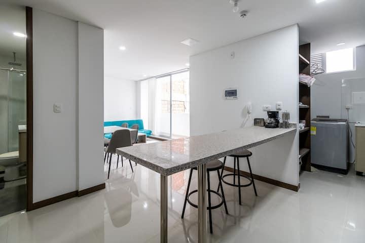 Ideal y acogedor apartamento amoblado, Apto 211