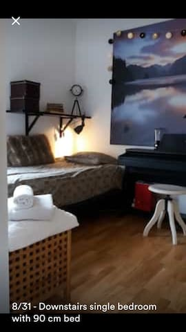 Cosy and clean room in modern house 5 km from city