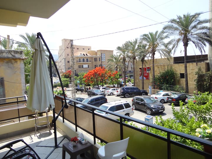 Byblos Downtown, City Square, Furnished Apartment.