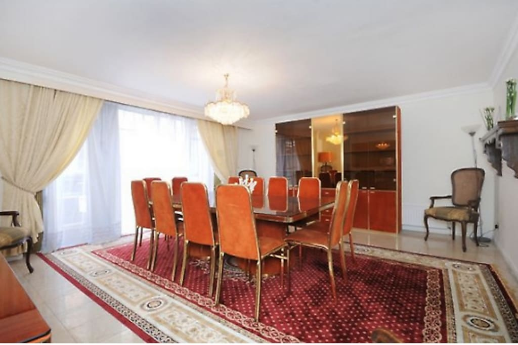 Dining Room with Terrace