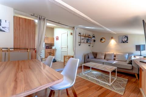 Apartamento estilo barco en el centro de Saint-Tropez