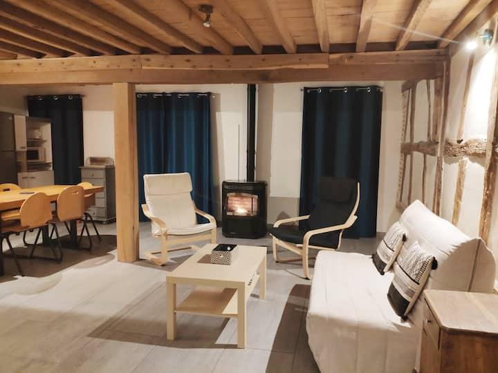 Gîte campagne clim,wifi, 10 mn de Bourg en Bresse