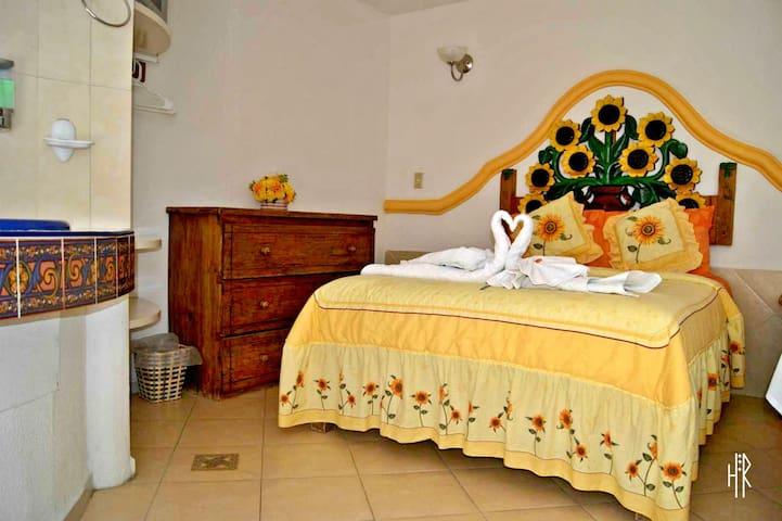 Bonita habitación cerca del centro los girasoles