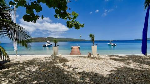 Vanuatu Luxury Matasso Pool Suite @treesandfishes