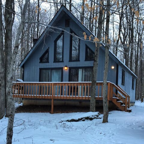 Cozy Mountain Chalet - Coolbaugh Township - Haus